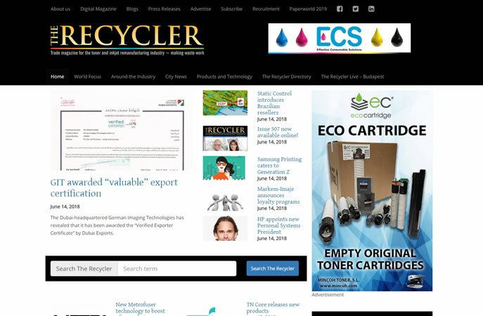 The Recycler website